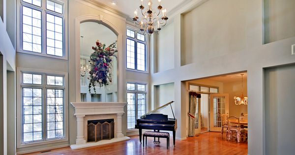 Grand Fireplace W Vaulted Ceilings Beams Open Floor: Many Upgrades Through Out, Dramatic High Ceilings, Paneled