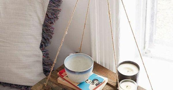 diy ideen nachttisch holz rustikal schlafzimmer pinterest nachttisch holz nachttische und. Black Bedroom Furniture Sets. Home Design Ideas