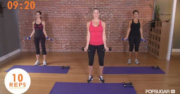 Madonna Arms Workout -- 10 min. Pretty great! We'll see if it