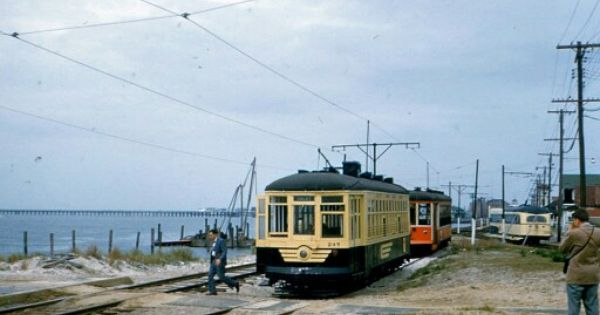 Atlantic City Trolleys At The Longport Terminus Great Vacation Spots Vacation Days Places To Visit