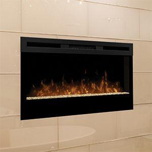 Dimplex Wickson 34 Electric Fireplace Blf34 Dimplex Electric Fireplace Built In Electric Fireplace Wall Mount Electric Fireplace