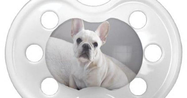 Cream Frenchie Pacifier Zazzle Com French Bulldog Puppies