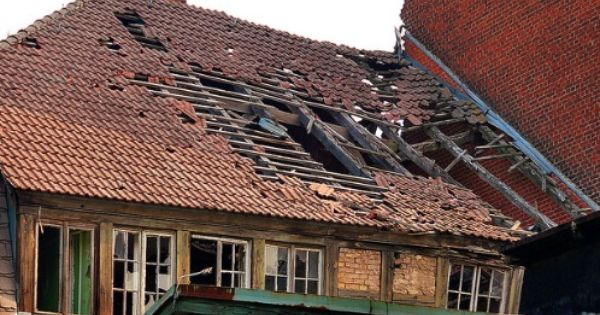 Broken Roof Research For Final Piece Patio Installation How To Install Gutters Seamless Gutters