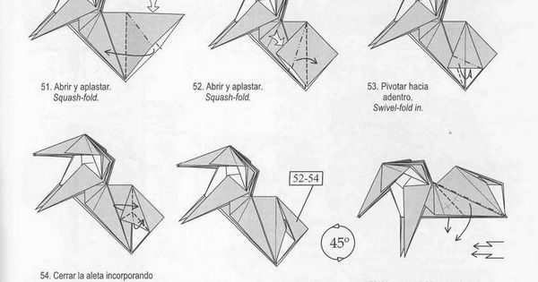 marvelous origami unicorn instructions