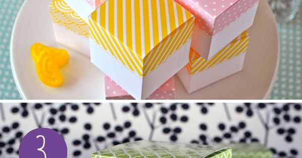 TONS of favor box printables for parties. printable party diy crafts www.BlueRainbowDesign.com