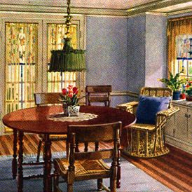 See Inside The Ideal American Home Of The 20s 1920s Home Decor Retro Home Decor Decor
