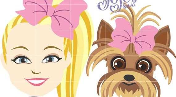 Jojo Siwa Bow Bow Show Inspired Cliparts High Quality Vector Drawing In 4 Different Formats Svg Dxf Ai And Png In A Zip Fil Jojo Siwa Jojo Siwa Bows Jojo