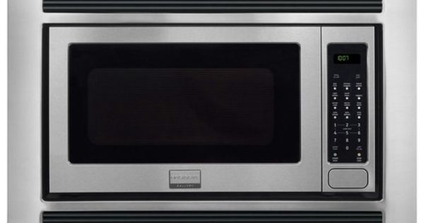 Frigidaire Gallery 2 0 Cu Ft Built In Microwave Stainless