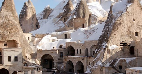 Fairy Chimney Hotel in Göreme, Turkey travel exotichotel