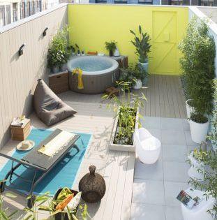 Spa Jacuzzi 12 Idees Pour L Integrer Dans Son Jardin Jacuzzi
