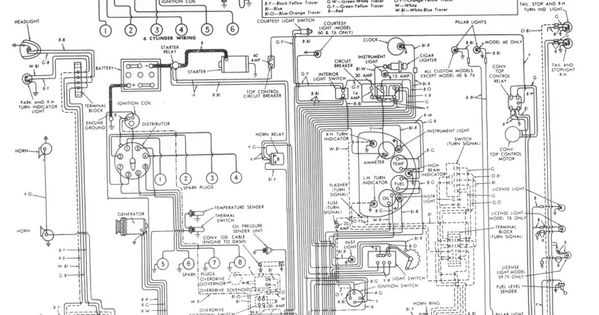 Wiring Diagram Cars Trucks 1948 Ford Truck Ford Diagram