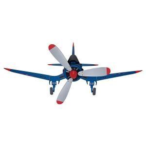 Hunter Fantasy Flyer 48 In Indoor Blue Flush Mount Ceiling Fan