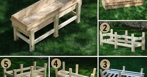 how to build a waist high vegetable garden