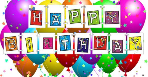 Free Printable Happy Birthday Banner ...