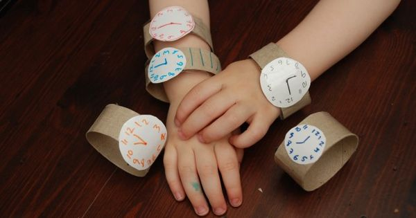 #Whirl craft idea Use old toilet paper rolls to make this wristwatch