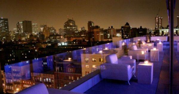 Rooftop Bars New York City Event Venue Spaces Venues Event Venues