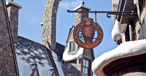 Harrypotter At Universal Owl Post Universal Studios