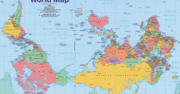 Upside Down Maps Also Known As South Up Or Reversed Maps Offer A Completely Different Perspective Of The World We Live In Mapa Mundi Mapa Cartografia