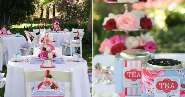 Afternoon Tea Party Wedding Theme 4 Afternoon Tea Party Wedding Theme 4