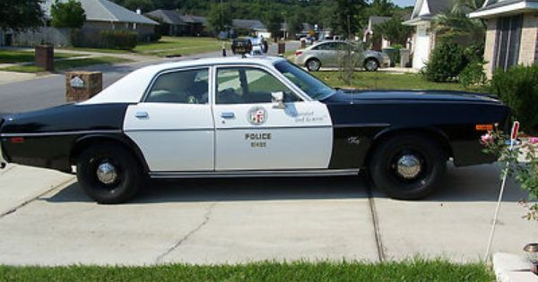 Plymouth Fury Police Police Cars Old Police Cars Police
