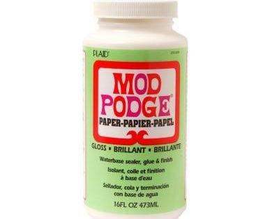 Mod Podge 16 Oz Gloss Paper Cs11239 The Home Depot Mod Podge Mod Podge Matte Podge