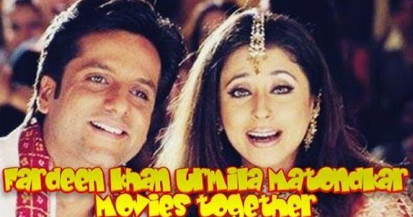 Fardeen Khan Urmila Matondkar Movies Together Bollywood Films List Movies Fardeen Khan Film