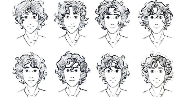 curly hair reference for guys totally need this