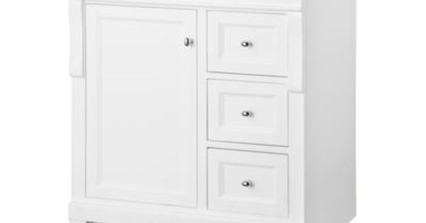 foremost international naples white 30 inch vanity nawa3021d home depot canada bathroom. Black Bedroom Furniture Sets. Home Design Ideas