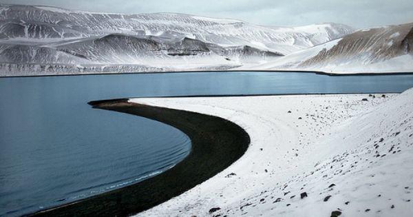 Destination Bucket List: Crescent Beach - Deception Island, Antarctica (by Robert Moran