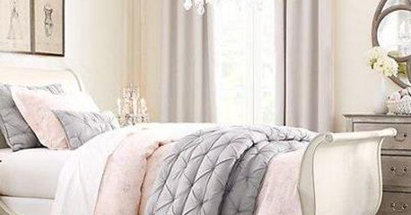 Grijs Creme Slaapkamer : SLAAPKAMERS: 10 ideeën voor een slaapkamer ...