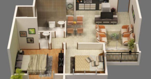 Vista tridimensional de una casa buscar con google for Como hacer un diseno de una casa en 3d