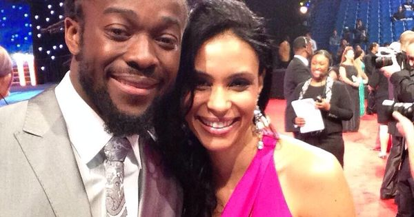 Kofi Kingston and his wife | WWE & TNA Family / Couple ...
