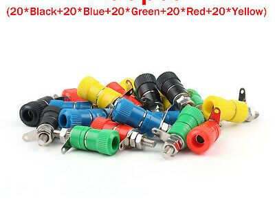 Ad Ebay 100 Pcs Binding Post Speaker Cable For Banana Plug Length 33mm Connector Us Un Speaker Cable Speaker Plugs
