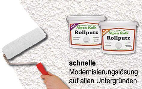 Rollputzstreichputz Rollputz Streichputz Von Alpenkalk