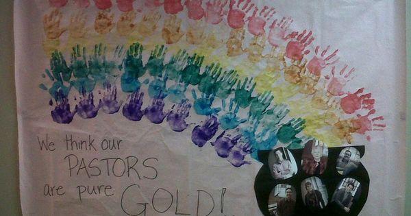 Pastor Appreciation Craft For Kids Banner For Pastor