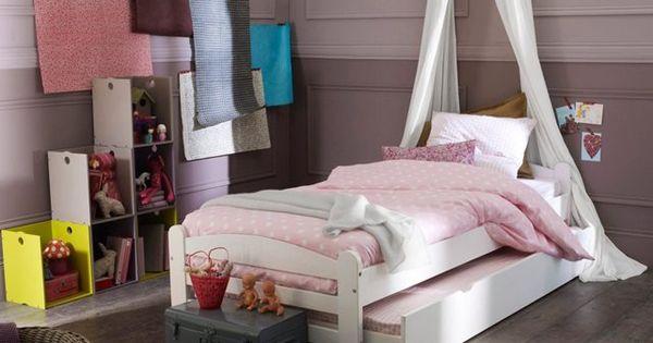 cerceau forme c ur pour ciel de lit sun la redoute interieurs chambre des fille pinterest. Black Bedroom Furniture Sets. Home Design Ideas