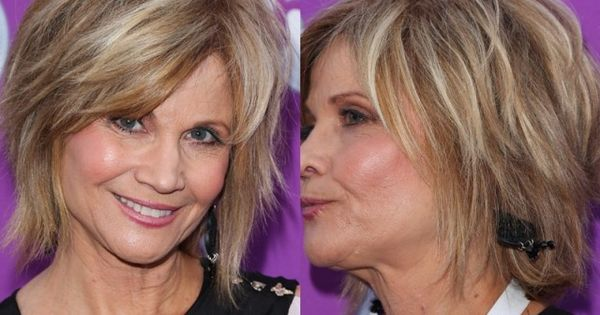 50th Hairstyle: When It Comes To A Cute Hair Style For Women Over 50, Shag