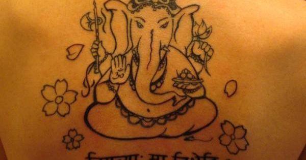 ganesha tattoo 35 sleek sanskrit tattoos tattoos pinterest ganesha sanskrit tattoo and. Black Bedroom Furniture Sets. Home Design Ideas