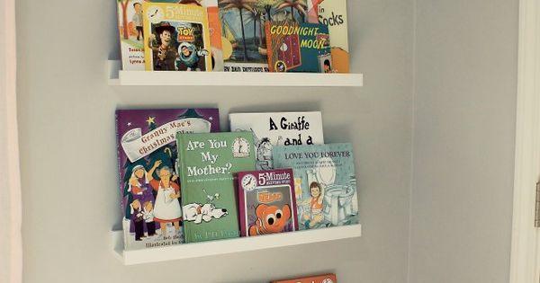 Biblioth que murale ikea ribba enfant pinterest Bibliotheque murale enfant