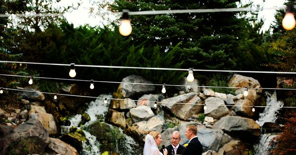 Hidden Falls Thanksgiving Point Wedding Ceremony Effervescent Media Works Ashley 39 S Wedding