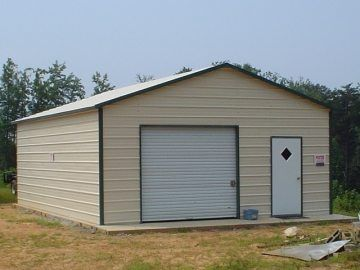 20 X 26 X 9 Garage Choice Metal Buildings In 2020 Metal Buildings Garage Installation Metal Building Homes