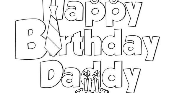 printable coloring pages happy birthday printable happy ...