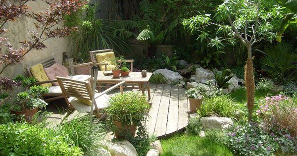 Paysagisme graviers au jardin pinterest gravier paysagisme et terrasses for Jardin 0 l4anglaise