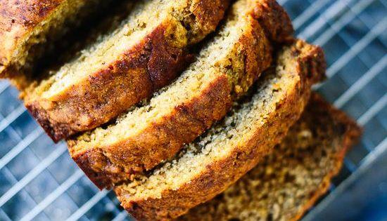 healthy banana bread rezept gesund gesunde s igkeiten und gesunde desserts. Black Bedroom Furniture Sets. Home Design Ideas