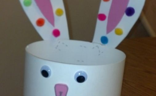 Easter Bunny Hat! Now that's a cool Easter craft for playgroup