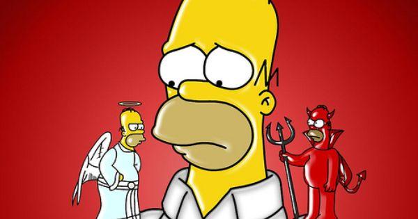 Ser O No Ser Los Simpsons Personajes De Los Simpsons Dibujos De Los Simpson