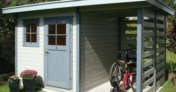 Schongau Kerti Fahaz Fataroloval Shed Garden Shed Cabins In The Woods