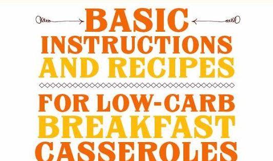 low carb diet instructions