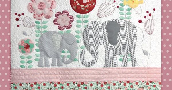 Instant Download Ellie Quilt Pattern Embroidery