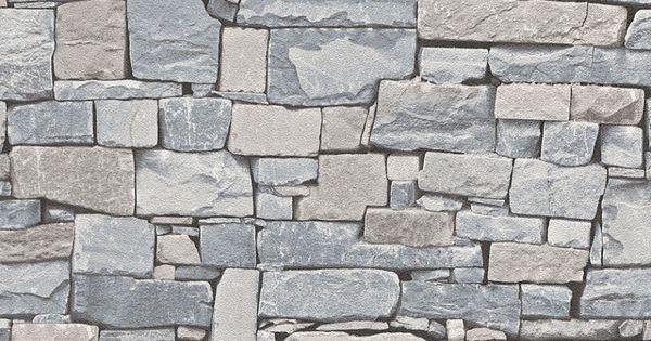 Papel pintado imitaci n piedra tonos gris y beige pdd521859102 papel pintado ladrillo y piedra for Papel pintado piedra gris